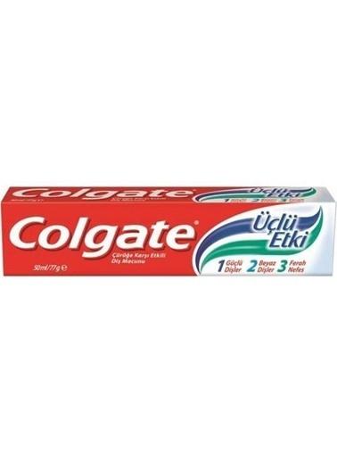 Colgate Colgate Çürüğe Karşı Etkili Üçlü Etki Diş Macunu 50 Ml Renksiz